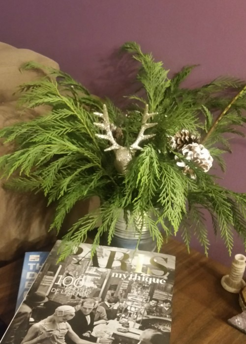 Christmas arrangements can spruce up any room!