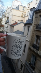 bring your favourite mug with you on vacation to make it feel more homey